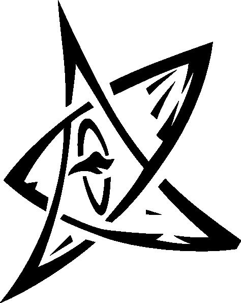 Elder Sign Rotated Clip Art At Clker Com Vector Clip Art