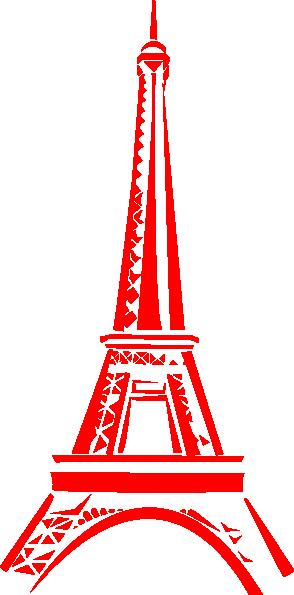 Eiffel Tower Clip Art At Clker Com Vector Clip Art