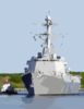 On April 12, 2003 The Navy Commissioned Its Newest Guided Missile Destroyer Uss Mason (ddg 87). Clip Art