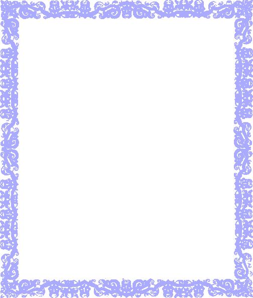 Blue Border Design Clip Art At Clker.com