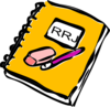 Reader Response Journal Clip Art