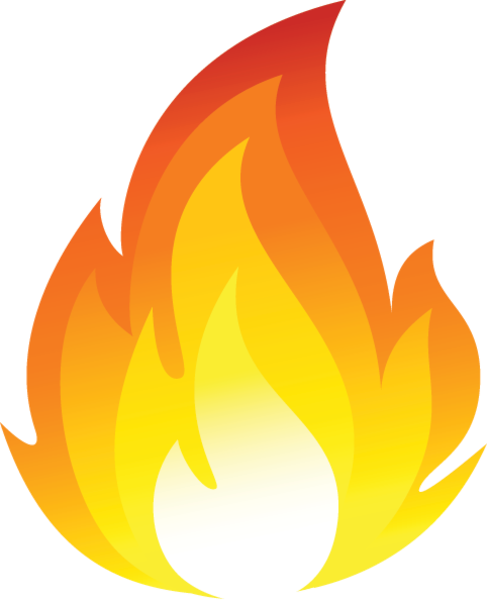 Fire Vector Icon Png | Free Images at Clker.com - vector ... | 487 x 600 png 77kB