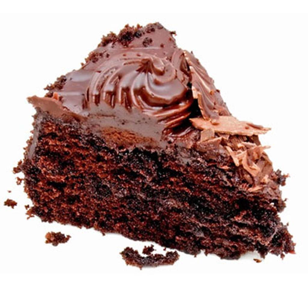 Chocolate Cake Slice Free Images At Clker Com Vector