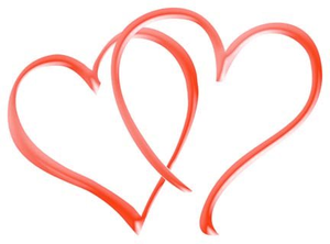 Line Art Of Heart : Double heart free images at clker.com vector clip art online