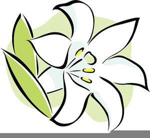 Easter Lily Clipart Image