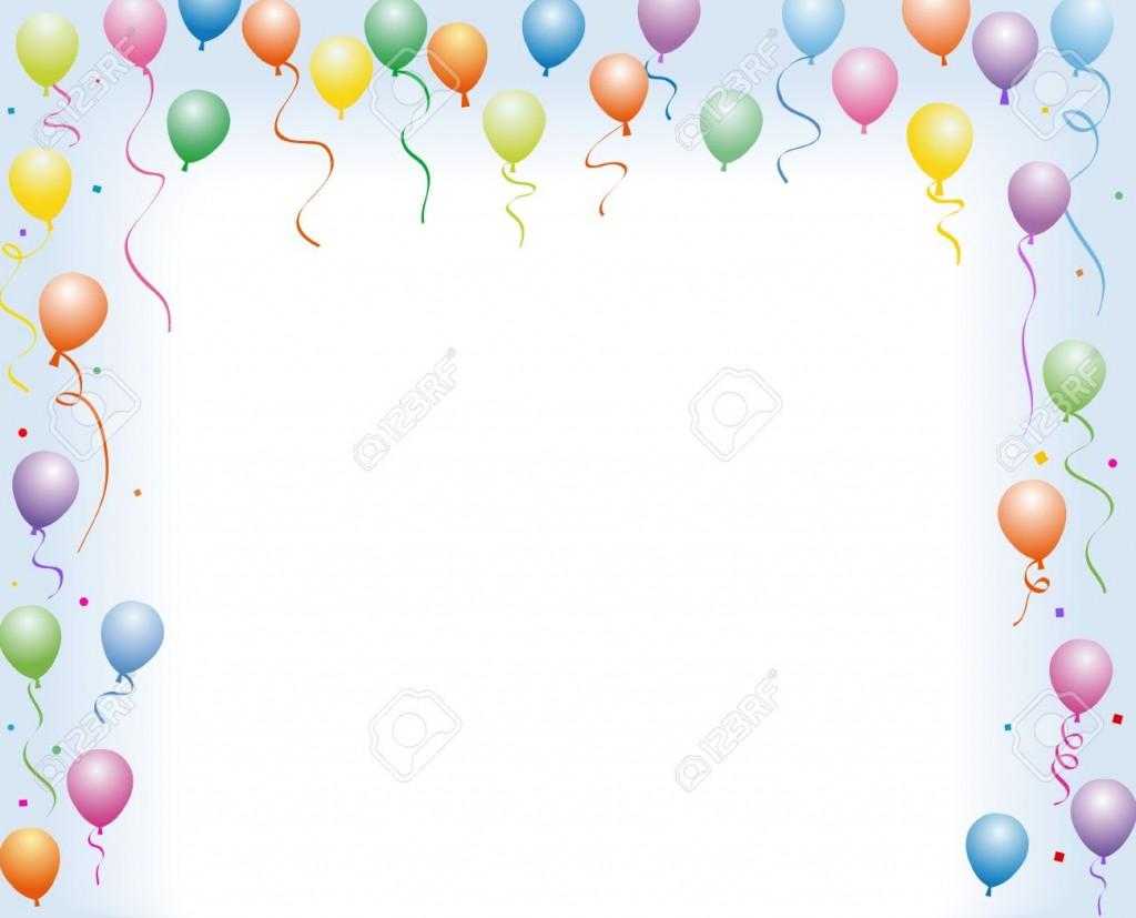 День святого, рамка из шариков для открытки
