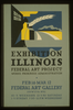 Exhibition Illinois Federal Art Project Works Progress Administration / B.s. Image