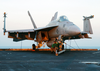 An F/a- 18e Super Hornet Assigned To The Eagles Of Strike Fighter Squadron One One Five (vfa-115). Image