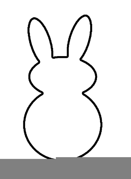 Bunny small. Peep clipart free images