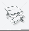 Free College Graduation Clipart Image