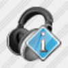 Icon Ear Phone Info Image
