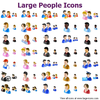 Large People Icons Image