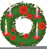 Animated Christmas Candles Clipart Image