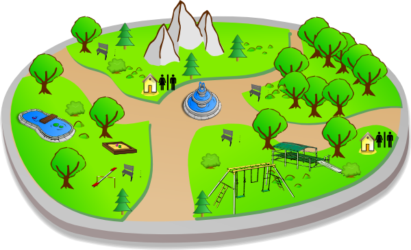 Cartoon About Nature Park