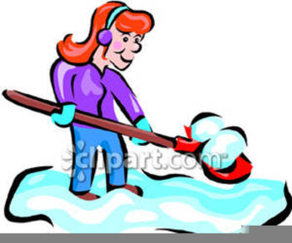 snow shovel clipart free free images at clker com vector clip rh clker com snow shovel clipart free Snow Blower