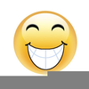 Silly Grin Clipart Image