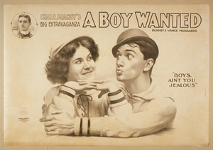 Chas. E. Blaney S Big Extravaganza, A Boy Wanted Image