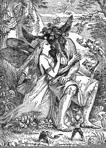 A Midsummer Nights Dream Clipart Image
