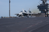 F/a-18 Launches Off The Flight Deck Image
