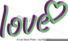 Peace And Love Clipart Image