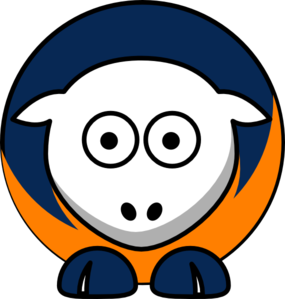 Sheep Houston Astros Team Colors Clip Art