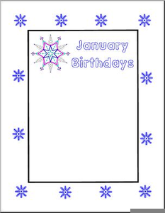 July Birthdays Clipart Free Images At Clker Com Vector Clip Art