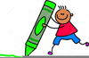 Free Crayons Clipart Image