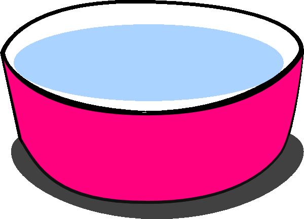 Large Pink Dog Bowls