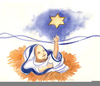 Baby Clipart In Jesus Manger Image