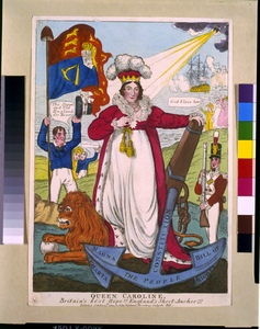 Queen Caroline. Britain S Best Hope!! England S Sheet-anchor!!! Image