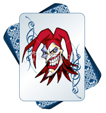istockphoto wild joker in a deck of cards free images at playing cards clipart deck of cards clip art free