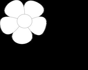 Simple Flower Clip Art At Clker Com Vector Clip Art Online Royalty Free Public Domain