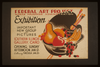 Federal Art Project Works Progress Administration Exhibition Important New Group Of Pictures. Image