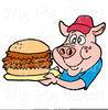 Free Pulled Pork Clipart Image