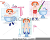 Clipart Boy Bathroom Image