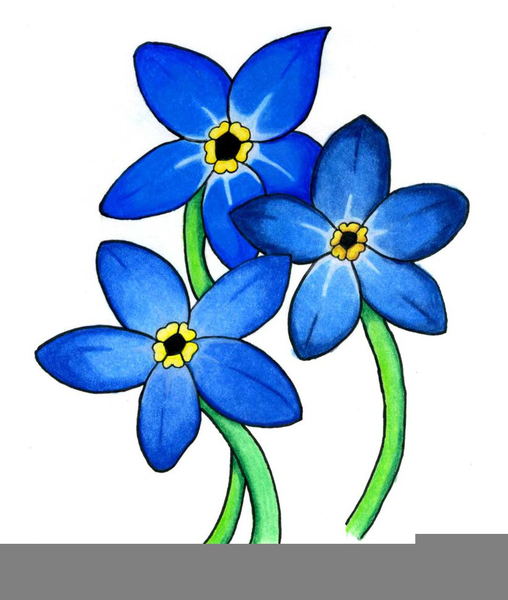 forget me not clipart free images at clker com vector clip art rh clker com Forget Me Not Symbolism forget me not border clip art free