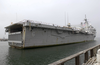 Uss Duluth (lpd 6) Pulls Into Her Berth Image