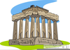 Clipart Of Greek Parthenon Image