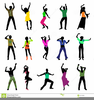 Dance Moves Clipart Image