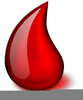 Clipart Blood Drop Image