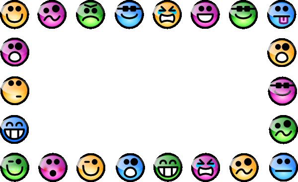 Smiley Border Clip Art At Clker Com Vector Clip Art