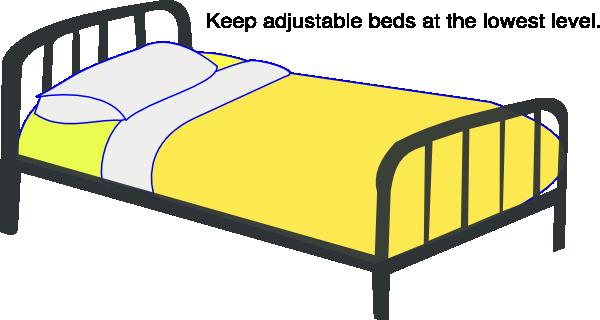 Hospital Bed Low Clip Art At Clker Com Vector Clip Art
