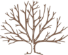 Brown Bare Tree Clip Art