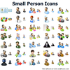 Small Person Icons Image