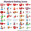 Standard Dating Icons Image