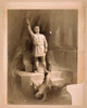 [man Dresses As Roman With Raised Arm Standing On Steps Above Body Of Another Man In Roman Dress] Image