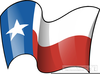 Animated Texas Flag Clipart Image
