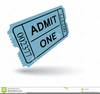 Free Clipart Raffle Tickets Image