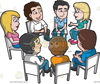Free Clipart Group Discussion Image