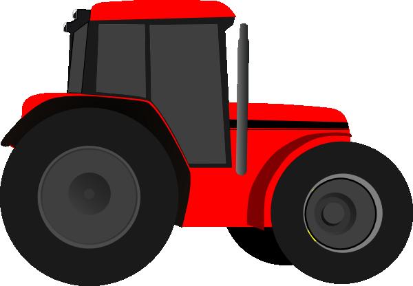 red tractor clip art at clker com vector clip art online free clipart tractor trailer truck free clipart tractor trailer truck